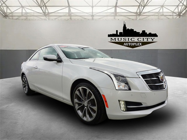 Certified Pre-Owned 2018 Cadillac ATS 2.0L Turbo Luxury