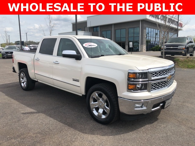 Pre Owned 2015 Chevrolet Silverado 1500 Ltz 4d Crew Cab In Madison