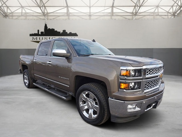 Certified Pre Owned 2015 Chevrolet Silverado 1500 Ltz 4d Crew Cab In