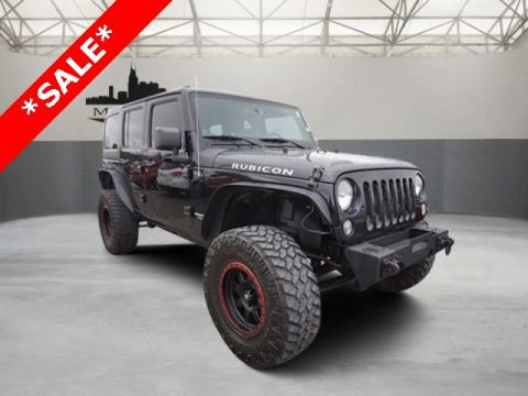 Certified Pre-Owned 2014 Jeep Wrangler Unlimited Rubicon 4WD 4D Sport Utility