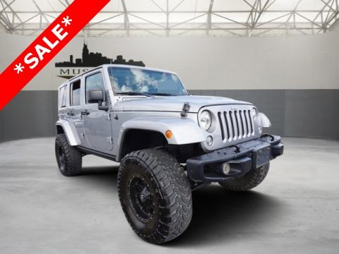 Certified Pre-Owned 2016 Jeep Wrangler Unlimited Rubicon 4WD 4D Sport Utility