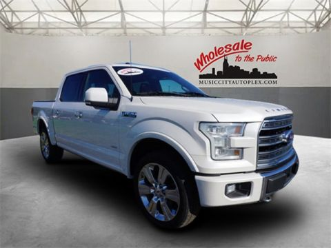 Certified Pre-Owned 2016 Ford F-150 Limited