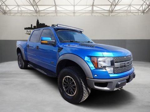 Certified Pre-Owned 2011 Ford F-150 SVT Raptor