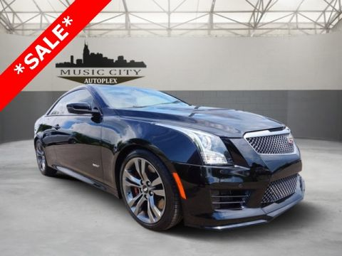Certified Pre-Owned 2016 Cadillac ATS-V RWD 2D Coupe