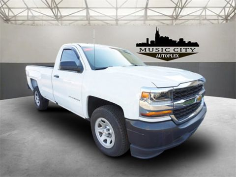 Certified Pre-Owned 2017 Chevrolet Silverado 1500 WT