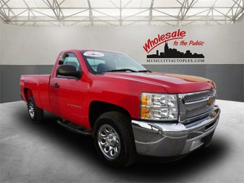 Certified Pre-Owned 2013 Chevrolet Silverado 1500 Work Truck